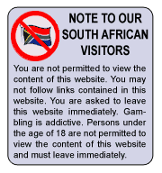 Online Gambling is Illegal in SA